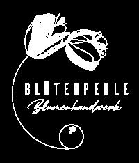 Blütenperle Blumenhandwerk Logo